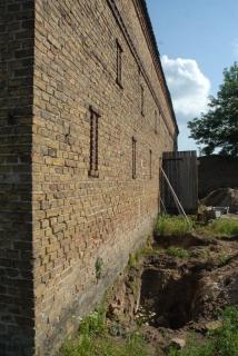 Fundamentunterfangung - der erste Bauabschnitt