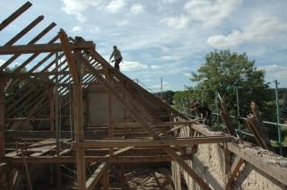 der halbe Dachstuhl