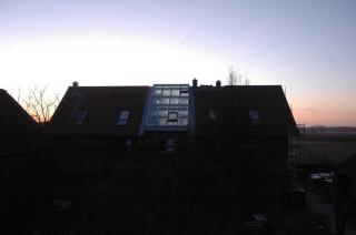 Jetzt ist das Dach endgültig dicht.