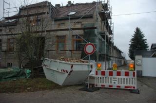 Haupthaus mit Dämmung