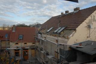 Dachsparren werden verlängert